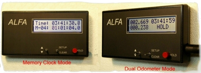 ALFA-Checkpoint and ALFA-Club rally clocks
