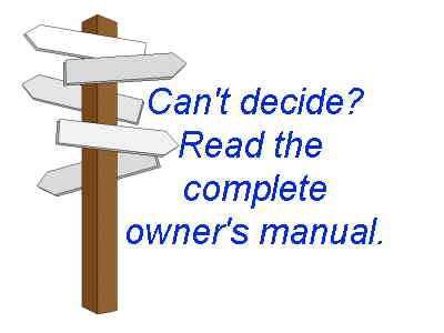 Click to read owners manuals